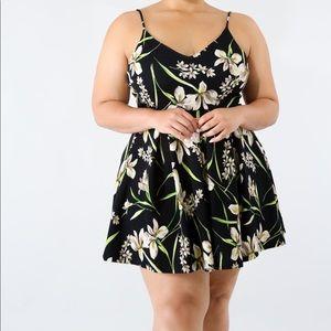 Flare flirty dress
